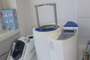Čistiaci a sterilizačný box